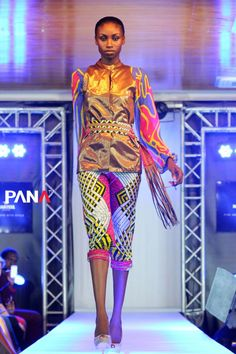 Kinabuti Vlisco Carnival in the desert collection by Panatelevision
