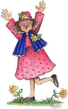 Design Blog, Web Design, Red Hat Ladies, Plus Size Art, Art Impressions Stamps, Crazy Friends, Woman Drawing, Penny Black, Dia Del Amigo