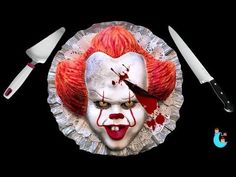 IT Pennywise Cake Torta de Pennywise Halloween Ideas Luna Mia - YouTube