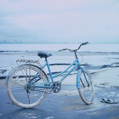 Blue Bike flickr. by Garlap