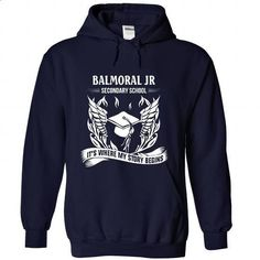 Balmoral Jr Secondary School - Its where my story begin - #white shirt #plain tee. GET YOURS => https://www.sunfrog.com/No-Category/Balmoral-Jr-Secondary-School--Its-where-my-story-begins-7407-NavyBlue-Hoodie.html?68278