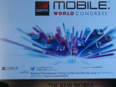 Twitter, a great tool to communicate in front of 800 attendees at Mobile World Congress 2013 during the NFC session.