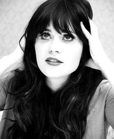 Zoey Deschanel. Literally the definition of perfect.