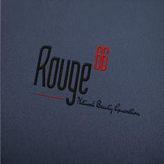 Progettazione logo per attività di cosmetica.  Rouge66  #logo #logodesign #grafica #graphicdesign #creareunlogo