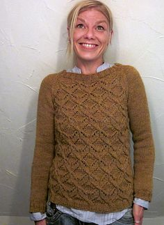 Ravelry: Dragonflies Jumper pattern by Joji Locatelli $6