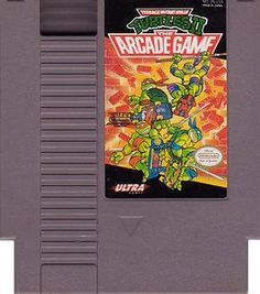 Teenage Mutant Ninja Turtles II The Arcade Game - NES Game Original Nintendo NES game cartridge only. All DK's classic used games are cleaned, tested, guaranteed to work and backed by a 120 day warran