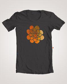 T-shirt by Maria Martí, via Behance
