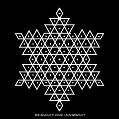 Design Discover Simple and Beautiful Star Kolam designs with dots