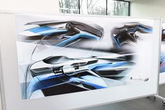 Peugeot 3008 design centre sketches