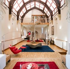 Chapel conversion into a condo, I'm converting now, sign me up!