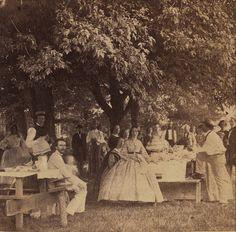 Civil War era Independence Day picnic, 1862