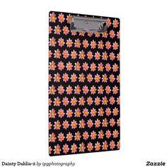 Dainty Dahlia-2 Clipboard