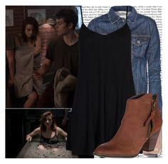 """Allison Argent-Alpha Pact/Lunar Ellipse"" by elenadobrev90 ❤ liked on Polyvore featuring Episode, Chanel, rag & bone, Boohoo and Steve Madden"