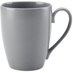 Tierra Slate Mug ($2.99) ❤ liked on Polyvore featuring home, kitchen & dining, drinkware, kitchen, hot tea mug and coffee mugs