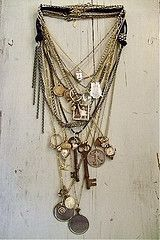 """dolled"" vintage, one of a kind, jewelry <3"