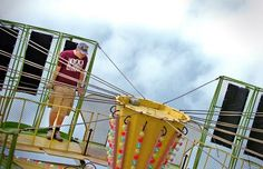 Harry Kerns, 18, of Marshfield is strapped in as he takes a spin on the Zero Gravity ride at the Marshfield Fair on Saturday, Aug. 25, 2012. AMELIA KUNHARDT/The Patriot Ledger