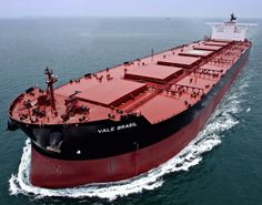 Brokers: Vale Tied to Up to 30 New Valemaxes - Offshore Energy Tanker Ship, Oil Platform, Oil Tanker, Merchant Marine, Concept Ships, Tug Boats, Water Crafts, Worlds Largest, Sailing