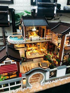 Maison de poupées miniature plant in Décoré pot bngk