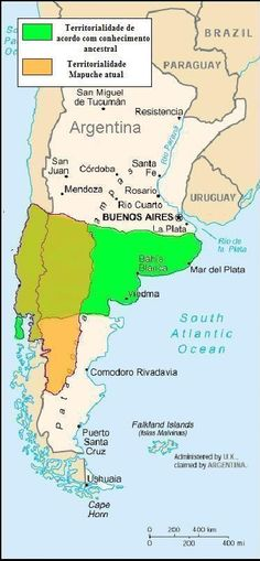 Territorio  del  pueblo  Mapuche (Chile  y  Argentina) Southern Cone, Old Maps, Geography, Charts, Wellness, Fantasy, World, Day, People