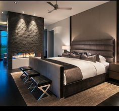 18 stunning contemporary master bedroom design ideas style motivation is one of images from modern master bedroom. This image's resolution is pixels. Find more modern master bedroom images like this one in this gallery Home, Home Bedroom, Master Bedroom Interior Design, Luxury Homes Interior, Luxurious Bedrooms, Minimalist Bedroom, Modern Bedroom, Small Bedroom, Remodel Bedroom