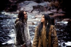 "queenklu: "" isaia: "" goldenvolcarona: "" frank-e-fighting-words: "" bankuei: "" apihtawikosisan: "" karonhiake: "" Roseanne Supernault and Eric Schweig in a scene from ""Maïna"" The film also stars Tantoo Cardinal and Graham Greene. From Perspective. Native American Actress, Native American Art, American Indians, Eric Schweig, Graham Greene, Pow Wow, Film Awards, Best Actress, First Nations"