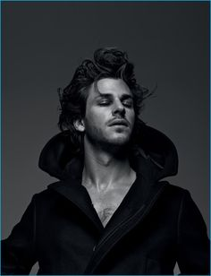 Gaspard Ulliel masters a regal expression for Numéro Homme.