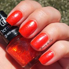 Dermacol Nail Polish With Effect, 05 Red Sparkle + Dermacol Advent Nail Polish Calendar, #9