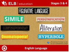 Learn to recognise a variety of figurative language tools with this engaging and interactive Prowise Presenter resource. Don't have Presenter? Don't worry, click the link to create a free account.
