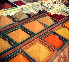 Street market in Antalya, Turkey Street Vendor, Packing Ideas, World Market, Antalya, Color Schemes, Greece, Trips, Around The Worlds, Spaces