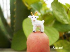 Cultura Inquieta - Encantadores animales en miniatura de ganchillo, por Su Ami