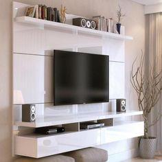 Home City 1.8 - Branco Gloss - Móveis - Americanas.com