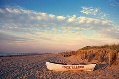Beach Sunrise in Stone Harbor, NJ photograph