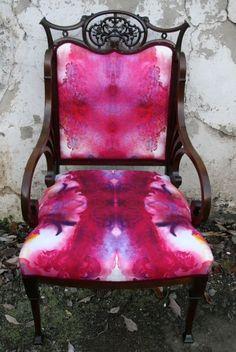Timorous Beasties Fabric - Chic Blotch