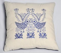 Embroidery pattern SCANDI BIRDS by anetteeriksson on Etsy