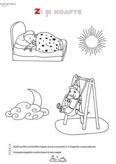 Fisa de lucru gradinita- Iubim matematica si mediul inconjurator 5-6 ani Kids Education, Parents, Living, Snoopy, Fictional Characters, Embroidery, Night, Fathers, Parenting Humor