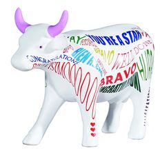 Coffee Cow, Cow Parade, Cow Decor, Cow Gifts, Gifts For Her, Artist, Cows, Store, Pergola