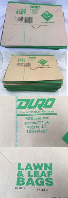 Garden Waste Bags 181024: Duro 2-Ply Lawn And Leaf Trash Bags 21 Ct 30 Gal Natural Brown Paper Made In Usa -> BUY IT NOW ONLY: $15.75 on #eBay #garden #waste #trash #natural #brown #paper Garden Waste Bags, Natural Brown, 2 Ply, Brown Paper, Lawn, Leaves, Usa, Nature, How To Make