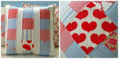 Riona - patchwork pillow