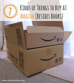 7 Kinds of Things to Buy at Amazon (Besides Books)