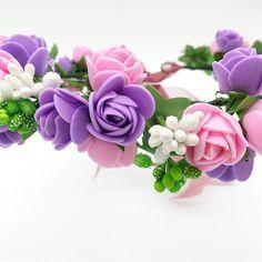 Cute Handmade Flower Crown // Amazing Quality // Wreath of