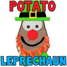 300x300 potato leprechaun step How To Make A Potato Face Leprechaun Preschool Crafts Activity for St. Patricks Day