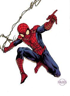 Spider-Man by Paris Alleyne *
