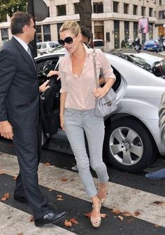 Kate Moss I love her style so simple,casual and comfortable
