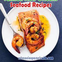 Easy Stovetop Sautéed Cinnamon Apples Recipe - Educacionparaelexito Apple Recipes, Salmon Recipes, Seafood Recipes, Crawfish Recipes, Cinnamon Recipes, Steak Recipes, Pasta Recipes, Diet Recipes, Parmesan Salmon