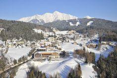 Ein traumhafter Wintertag im Bergdorf Mösern-Buchen 💛. #olympiaregionseefeld #mösern #buchenmösern #tirol #österreich #winter #urlaub #schnee #familie