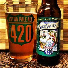 #craftbeer #beer #420fest #atlanta #georgia #sweetwaterbrew #420 #extrapaleale #iphoneography @sweetwaterbrew