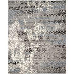 Safavieh Evoke Grey/ Blue Rug (8'6 x 12') - Overstock™ Shopping - Great Deals on Safavieh 7x9 - 10x14 Rugs