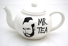 Mr  T Tea Teapot by LennyMud on Etsy, $40.00