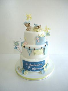 Christening cake Diletta Contaldo Torte in arte