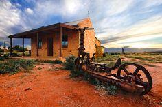 Outback Scooter Silverton, NSW Australia